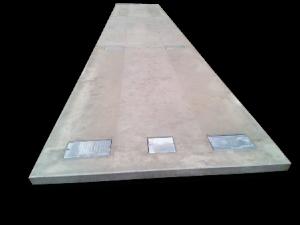 Pont bascule béton